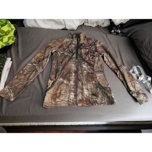Under Armour Semi-Fitted REALTREE Camo & Coral